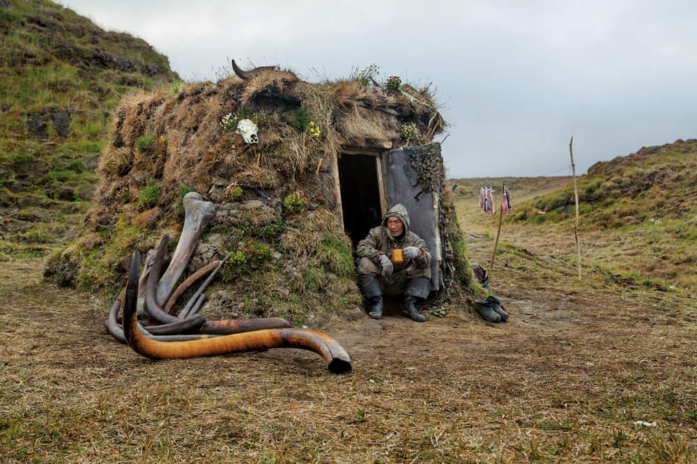 A saga dos caçadores de presas de mamutes