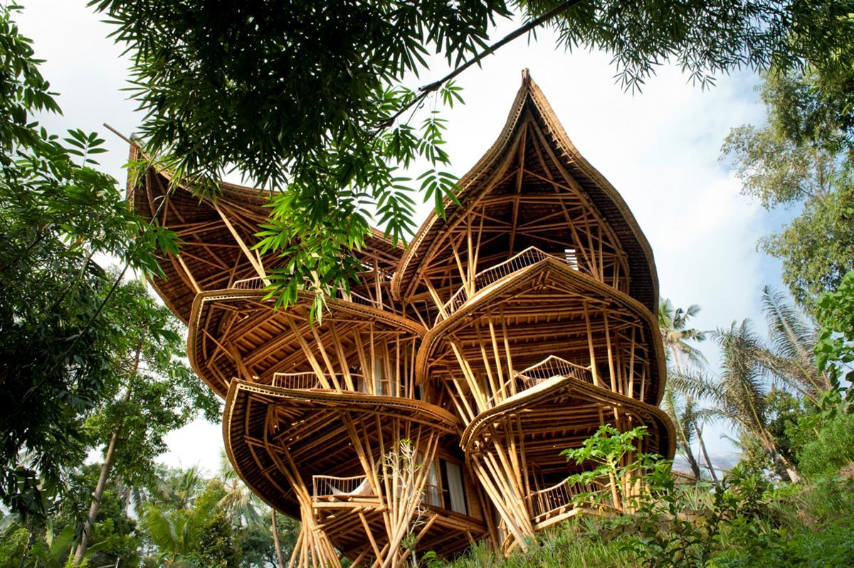 Incr Vel Casa De Bambu Em Bali