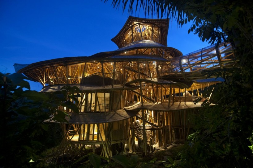 Incrivel Casa De Bambu Em Bali on Bali Spirit House