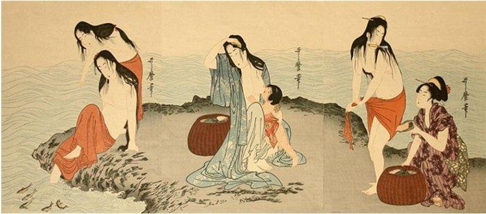 As Amas retratadas em obras-primas japonesa (1750-1806)