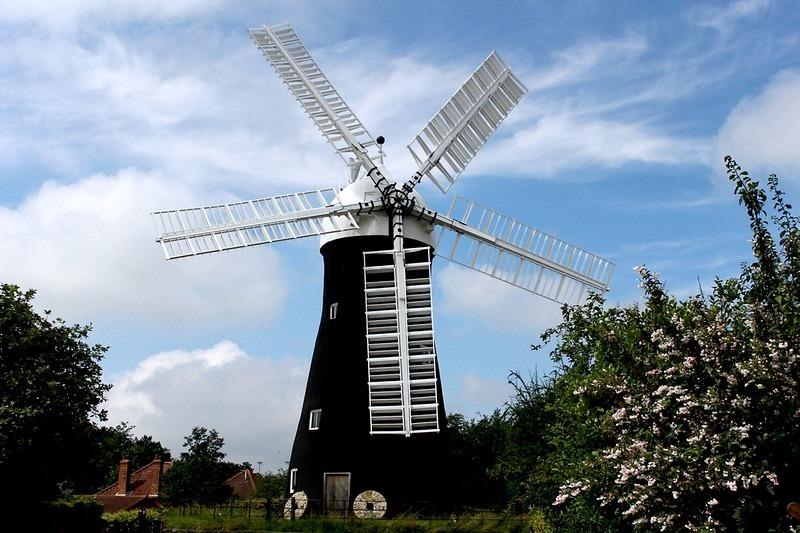O moinho Holgate Windmill em York. | Crédito da foto